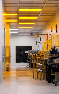 Hallway of the Main Lab in FabLab